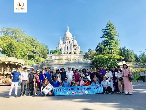 Du lịch Á Châu khuyến mại chùm tour châu Âu Tết 2020