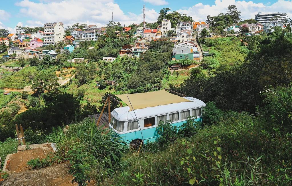 Homestay xe buýt mới lạ ở Đà Lạt