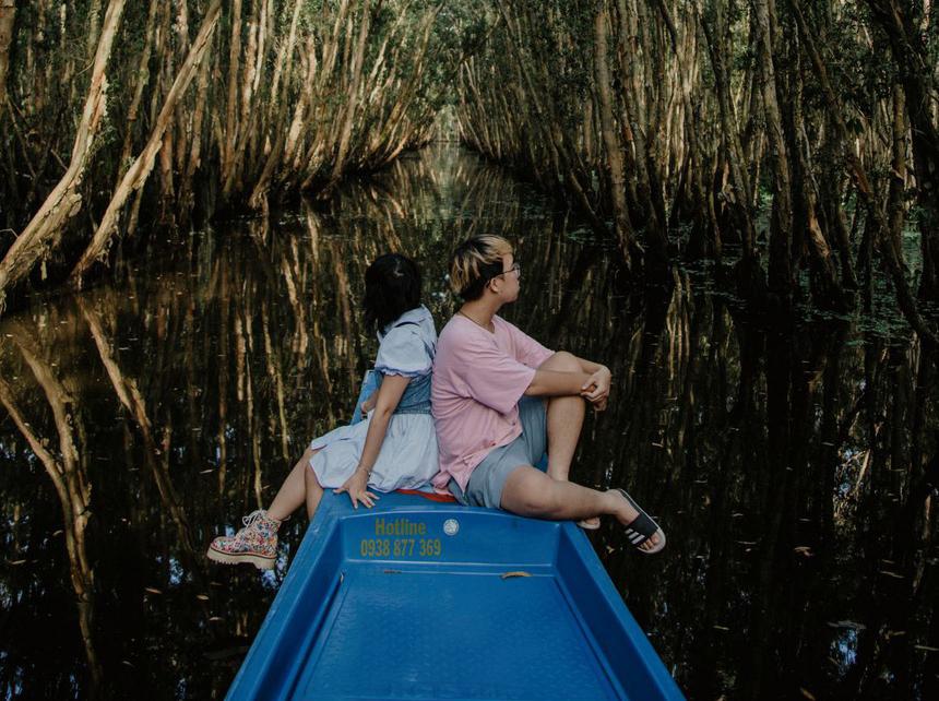 3 ngày lang thang An Giang, ngắm rừng Trà Sư mùa nước nổi