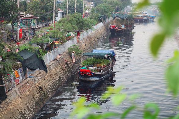 Làm đẹp không gian chợ hoa xuân Bến Bình Đông