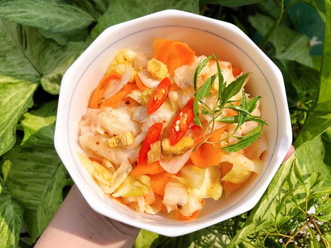 Kim chi bắp cải chua ngọt
