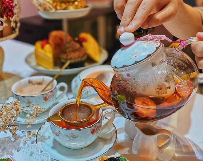 4 nơi thưởng trà bánh hút giới trẻ tại TP.HCM