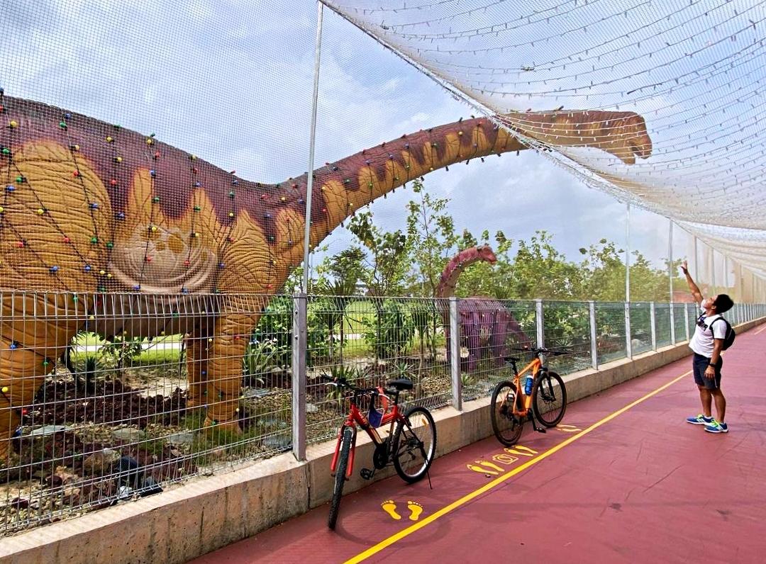Công viên khủng long - điểm giải trí mới trong sân bay Changi