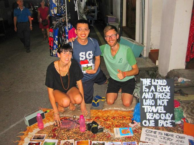 Những bài học trên đường lang thang của chàng trai Việt