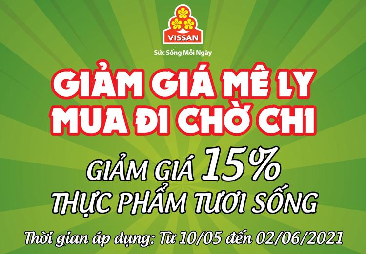 Chương trình khuyến mãi thực phẩm tươi sống tháng 05/2021 của Công ty Cổ phần Việt Nam Kỹ nghệ Súc sản VISSAN