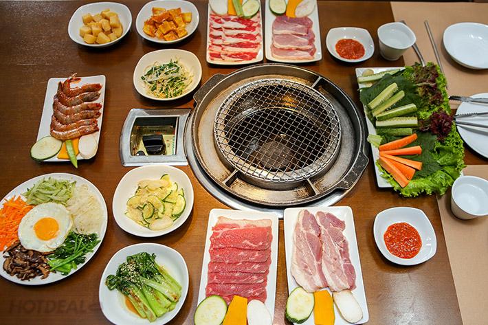Đại Tiệc Cùng Korean Grill - Giảm 63% Cho Set BBQ + Tặng Thêm 1 Phần Tôm Có Sốt